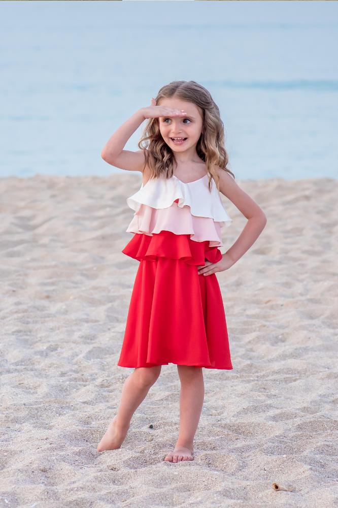 Kleid seide farben